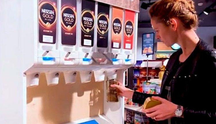 Nestlé testa equipamento que elimina embalagens em pontos de venda